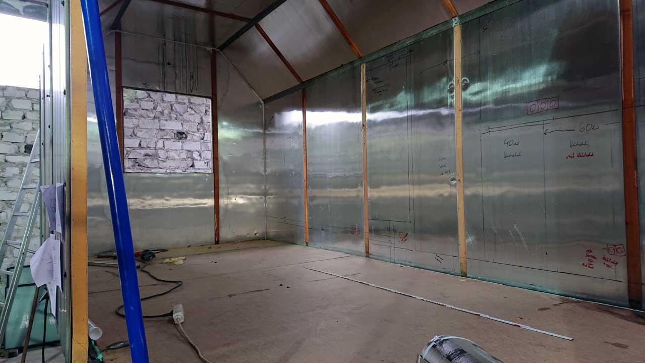 Tiny House Berlin - Bauwagen Umbau - Planung der Einbauten